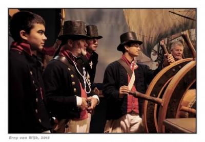 42421 scheepsvolk Bataafse Marine - crew Netherlands Batavian Navy 1797