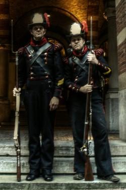Mariniers 1817-1831 'hoedjesman' Verenigd Koninkrijk der Nederlanden
