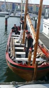 Capiteyns-Chaloupe Hellevoetsluis 1797 Marine sloep Bataafse Republiek Dutch Navy sloop Equipage De Delft 2016
