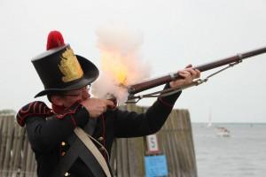 Equipage De Delft - Marinier 1817-1830 hoedjesman - Nederlandse Marine - Korps Mariniers - re-enactment - Netherlands Marine Navy