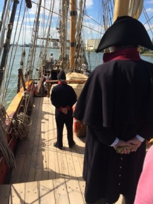 Documentaire Admiraal Lodewijk van Heiden - Slag bij Navarino - fregat Shtandart - Equipage De Delft