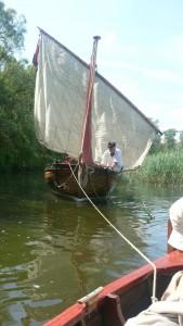 Capiteyns Chaloupe Equipage De Delft Biesbosch sloep Marine 1782 1797 boegseren - Dutch Navy re-enactment