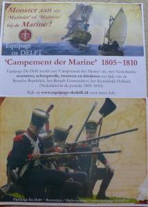 Equipage-De-Delft-Fort-Buitensluis-Open-Monumentendag-2016-Mariniers-1805-1810-Dutch-Navy-re-enactment-Marine