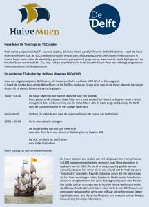 Halve Maen programma