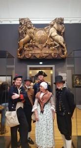 Equipage De Delft - re-enactment Nederlandse Marine - Rijksmuseum - Michiel de Ruyter - spiegelversiering Royal Charles - tocht naar Chatham