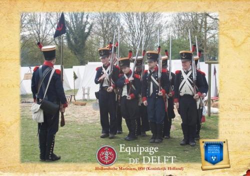 Hollandsche Mariniers tijdens het Koninkrijk Holland (1806-1810)