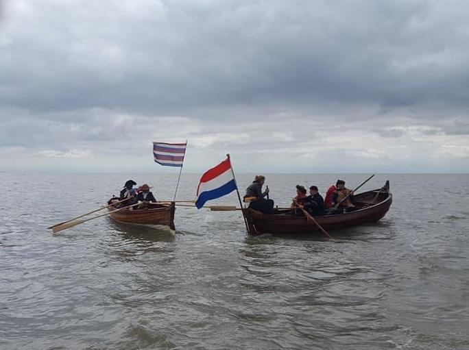 Nederlandse Mariniers 1667 - landing Felixstowe Attack Fort Landguard - Dutch Marines - Tocht naar Chatham - Equipage De Delft - Re-enactment Marine Dutch Navy 0