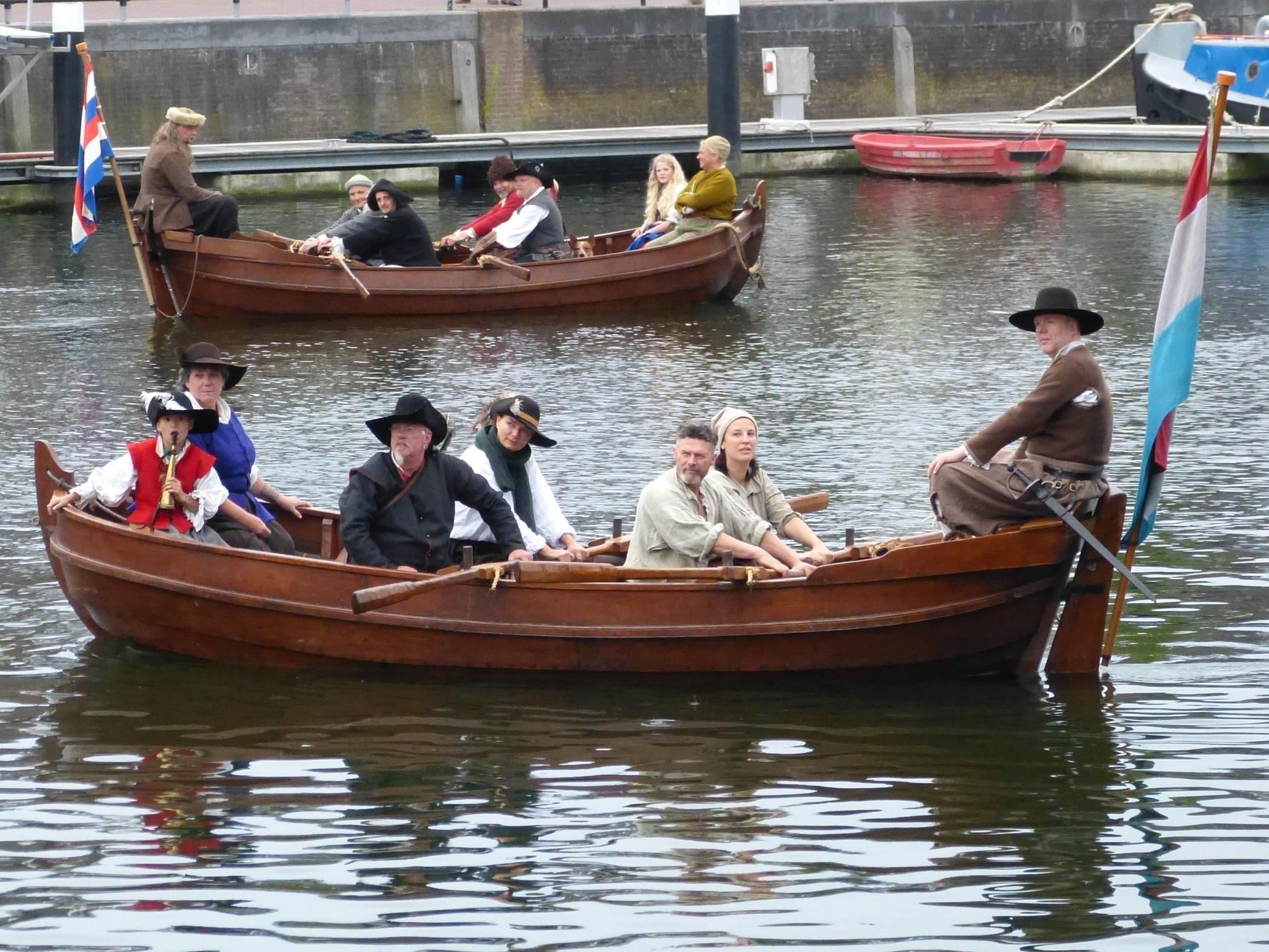 Michiel de Ruyter - Scheepsvolk - Tocht naar Chatham 1667 - terugkomst Hellevoetsluis - Allemansend - Raid on the Medway return Dutch Navy