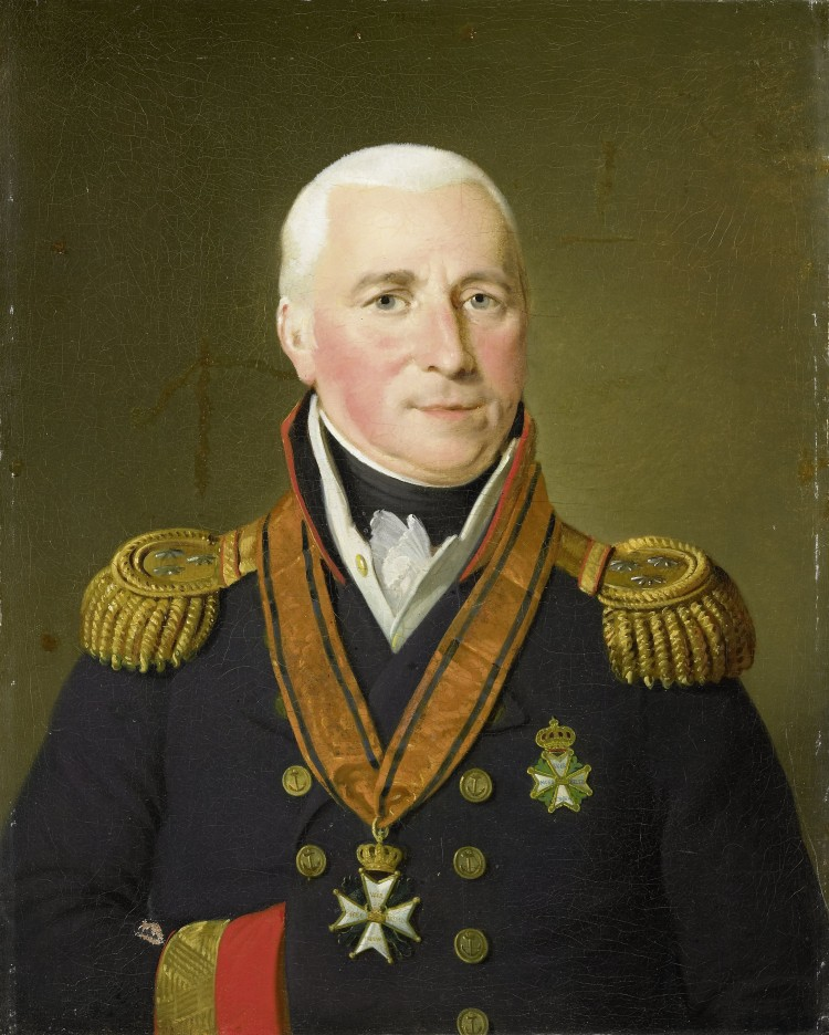 Gerrit Verdooren (1757-1824), Kapitein-ter-Zee van 's-Lands Schip van Oorlog Delft, later Vice-Admiraal