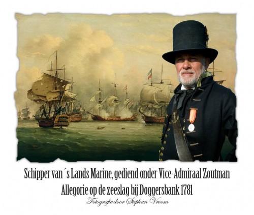 Zeeslag bij de Doggersbank 1781 - Doggersbank-medaille - Equipage De Delft - Schipper der Marine