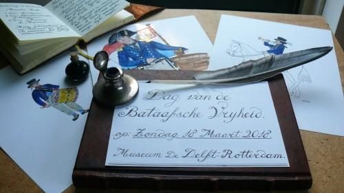 Dag van de Bataafsche Vryheid 2018 - Equipage De Delft - Museum De Delft Rotterdam