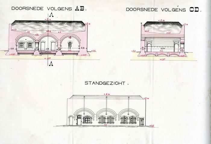 Bomvrije Logies 1857 - Bomvrije Buskruitmagazijn - Bomvrije Hospitaal - Vesting Hellevoetsluis - Equipage De Delft - verenigings-quartier