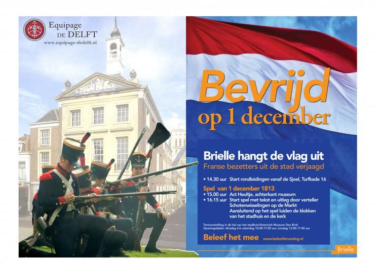 Equipage De Delft - Brielle Bevrijding 1813 - 1 december 2018