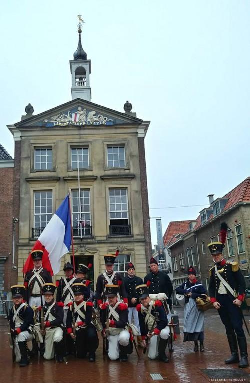 Equipage De Delft - Brielle Bevrijding 1813 - 1 december 2018 voor Historisch Museum Den Briel