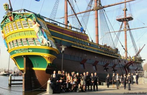 Equipage De Delft - 125 jaar Koninklijke Marine Reserve - Scheepvaartmuseum Amsterdam 1