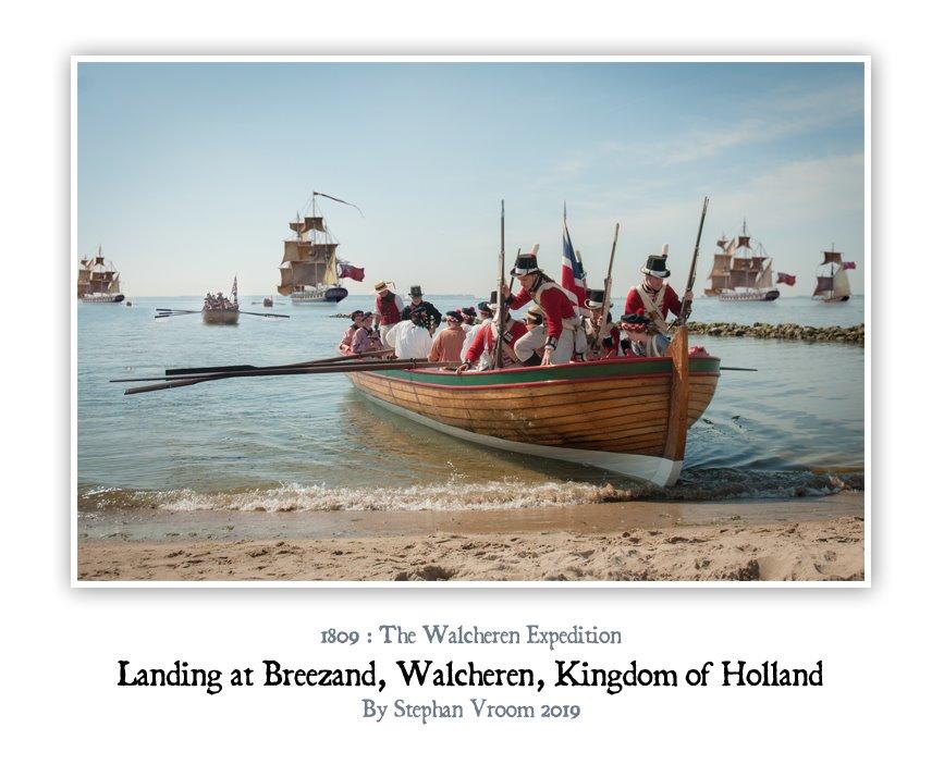 Walcheren Expedition Veere 1809 - Britse landing op Walcheren - Equipage De Delft Hellevoetsluis 1