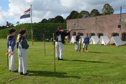 Equipage De Delft - Vesting Hellevoetsluis - Bomvrije Logies - Mariniers - Marine - Bataafse Republiek 1795-1806