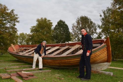Capiteyns-Chaloupe Equipage De Delft Hellevoetsluis - Droogdok Jan Blanken - replica historische sloep 1783