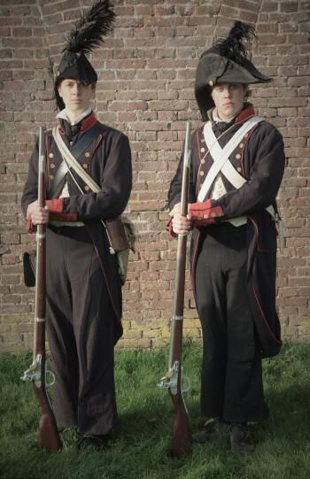 Equipage De Delft Hellevoetsluis - Mariniers 1797 - Zeeslag bij Kamperduin - Marine - Korps Mariniers 02
