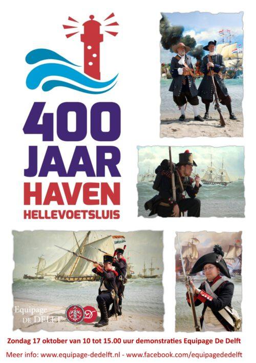 400 jaar Haven Hellevoetsluis 2021 - Equipage De Delft - historie Marine Mariniers Matrozen - Michiel de Ruyter